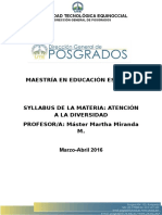 Syllabus Atencion a La Diversidad e11-1