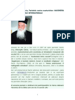 Pr Gheorghe Calciu - despre masonerie