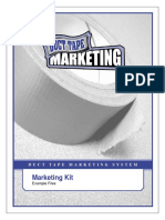 Duce Tape Marketing Kit Examples