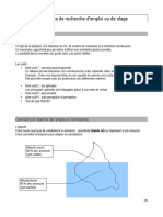 Aide CV Pour Stage