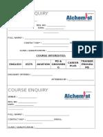 Aiepd Course Enquiry Form