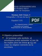 Ortografia1 El Uso de Las Letras Gj Espanol1101