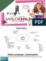 Wild Child Presentation