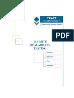 Website Scalability Testing