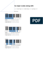 Here Are All the Major Scales Along With Fingerings