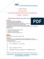 70-464 Exam Dumps with PDF and VCE Download (1-30).pdf