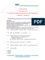 70-465 Training Kit Pdf