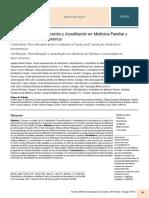 Certificación, Recertificación y Acreditación en Medicina Familiar y Comunitaria en Iberoamérica