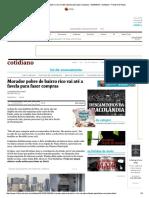 Morador Pobre de Bairro Rico Vai Até a ...08_2015 - Cotidiano - Folha de S.paulo