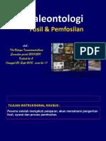 Paleontologi (kuliah 2) Fosil&F-isasi gasal 2010 2011.ppt