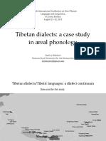 Tibetan dialects