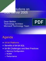 November 2006 64-Bit SQL Server