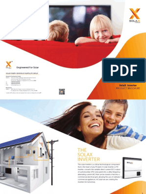 Solax-Full-Product-Brochure-2015[1] pdf | Power Inverter | I