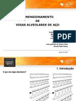 06 Dimensionamento de Vigas Alveolares de Aco
