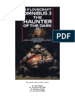 HP Lovecraft Omnibus 3 - The Haunter in the Dark