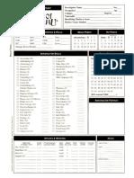 1890s - Dark Designs - Character Sheet (5ed)
