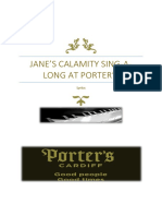 Jane's Calamity Lyric Sheet (November)