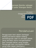 Penggunaan Bambu Sebagai Pengganti Pada Tulangan Beton (2)