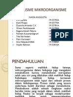 Ppt Metabolisme Mikroorganisme Klp 2