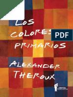 Los Colores Primarios - Azul, de Alexander Theroux