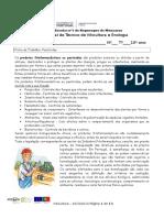 Ficha de Trabalho 10 Pesticidas