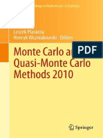 MonteCarlo+QuasiMC 2010