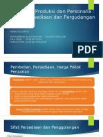 Audit Siklus Produksi Dan Personalia
