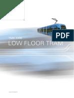 Low Floor Tram 08