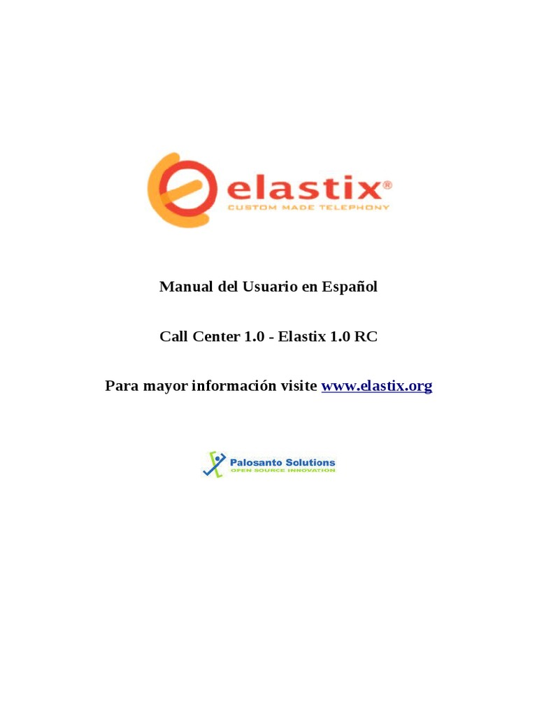 Manual lxp200 formato elastix.