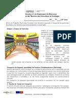 Ficha de Trabalho 15 Pesticidas Cuidados a Ter Durante a Aquisição e Transporte de Pesticidas;