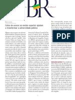 ASSAD, Leonor - Cotas de acesso ao ensino superior ajudam a transformar a universidade pública - SBPC (2013).pdf