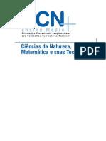 PCNS ciencias da natureza, matemática e suas tecnologias
