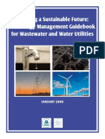 An Energy Management Guidebook for Wastewater and Water Utilities