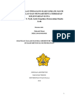 Metodologi Penelitian Zahratul Idami (1304104010063)