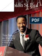 Julie Kendrick -- Cover Story on Urban Education for Concordia St. Paul Magazine