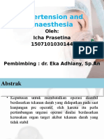 Hypertension and Anaesthesia