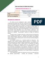 Poblaciones en Riesgo - Mresiliencia
