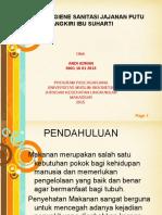 Analisis Hygiene Sanitasi Jajanan Putu Cangkiri Ibu Suharti 01