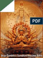 Ārya Gambhīra Samdhinirmocana Nama Mahayana Sūtra Tīkā