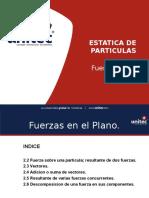 CONFERENCIA 1 FUERZAS EN EL PLANO