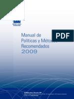 Manual de Politicas y Metodos Recomendados de ACI 2009 v2