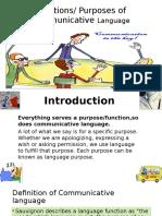 Communicative Language Powerpoint