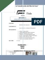 Informe 2 de Mecanica de Suelos