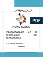 Módulo de Psicopedagogía