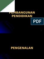 Bab5 Pembangunan Pendidikan.ppt