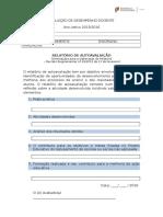 Relatorio de Autoavaliação 2015-2016