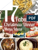 17 Fabulous Christmas Dinner Menu Ideas Free ECookbook