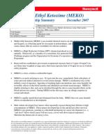 Public Risk Summary MEKO