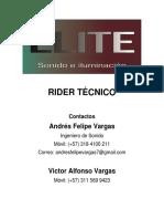Rider Sonido Elite Carlos Diaz