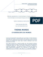 Thema Mundi O Horoscopo Do Mundo